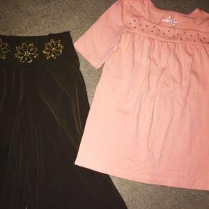 Girls shirt&capris!